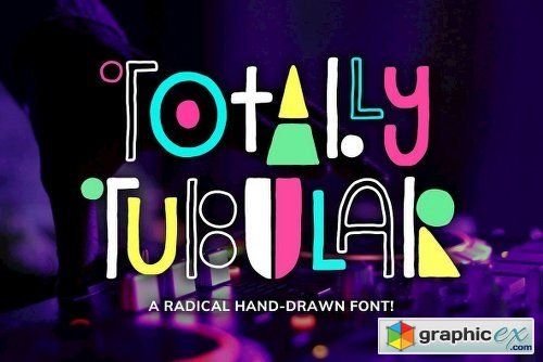 Totally Tubular Font Family - 2 Fonts