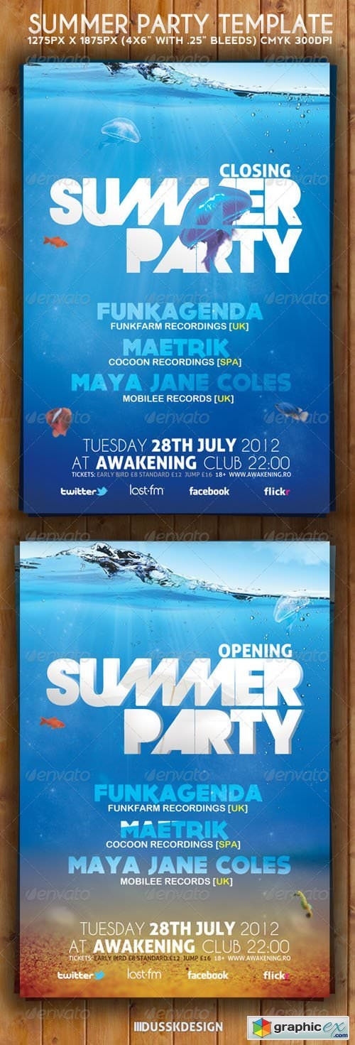 Summer Party Flyer 3117675