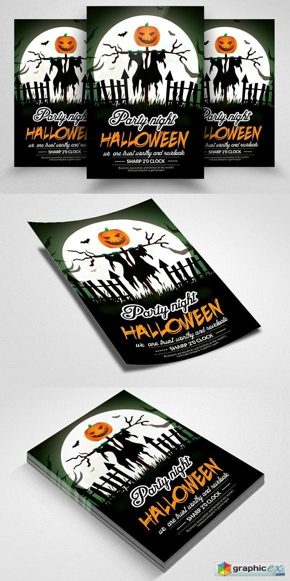Halloween Day Flyer Templates