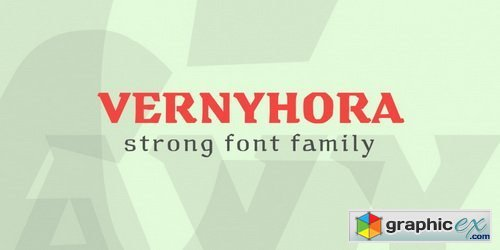 Vernyhora Font Family