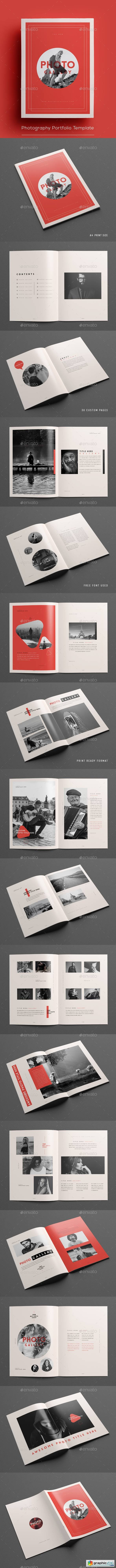 Photography Portfolio Template 20860581