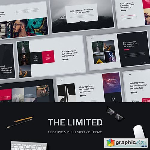 Limited - Creative & Modern Powerpoint Template