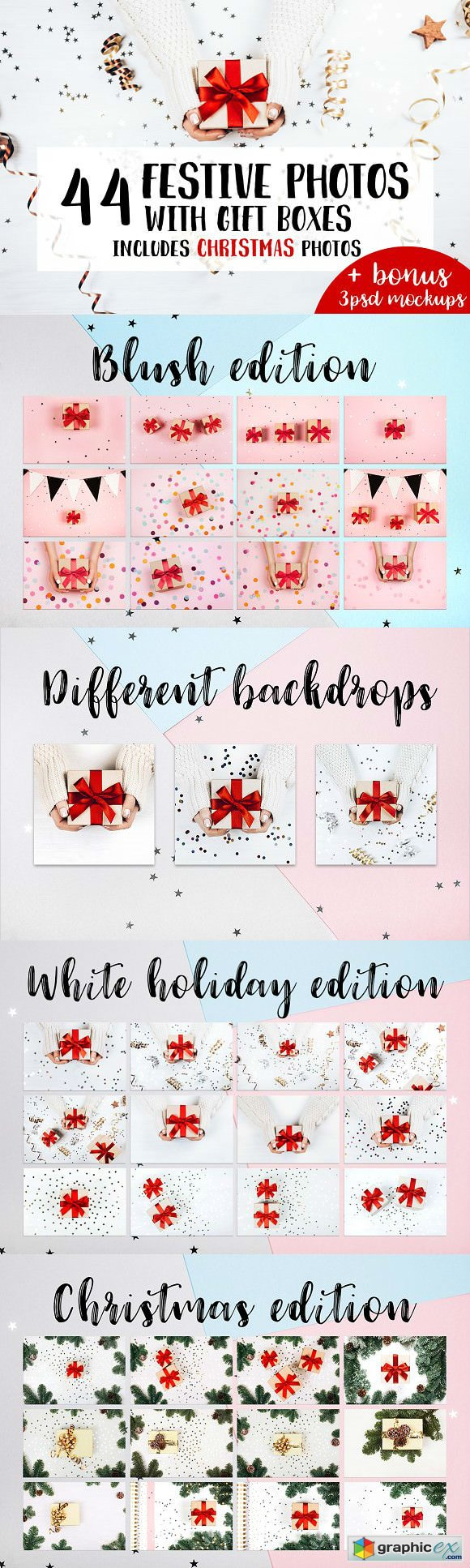 44 Festive Photos With Gift Boxes