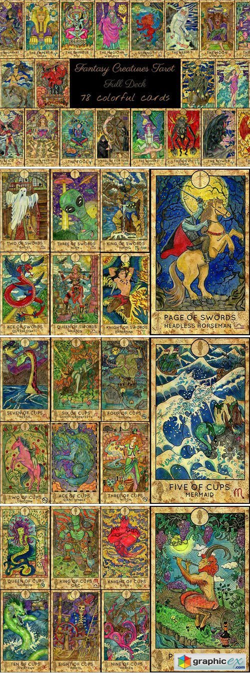 Fantasy World Tarot/full deck