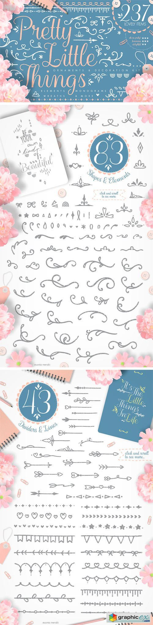 Pretty Little Things - Decoration Kit