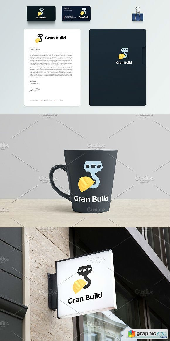 Logo Template in 5 Formats