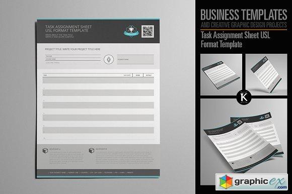 assigment sheet