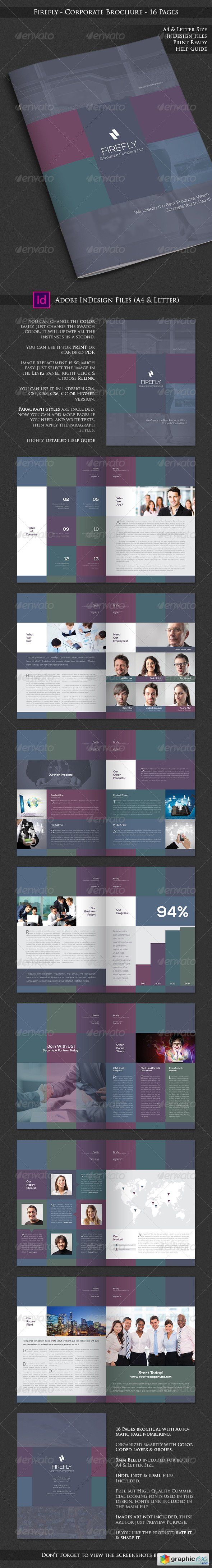 Firefly - Corporate Business Brochure