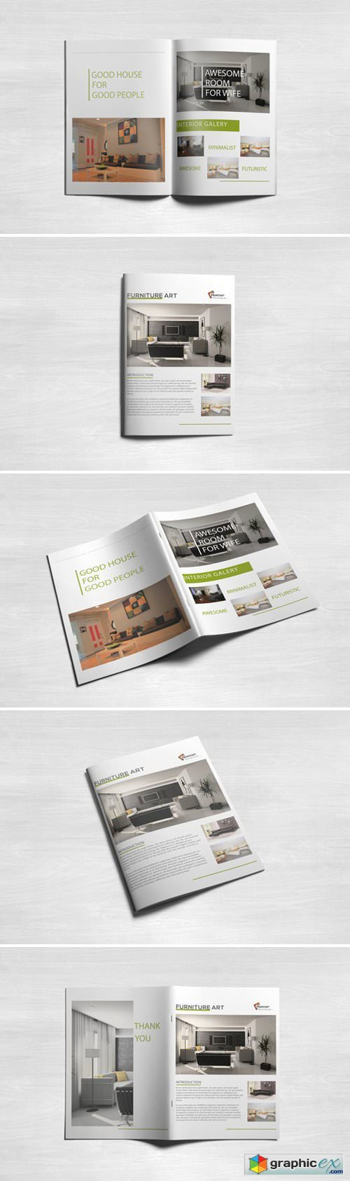 INTERIOR - Simple Brochure Template