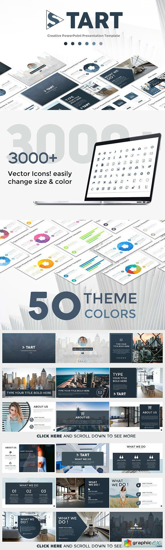 START PowerPoint Template