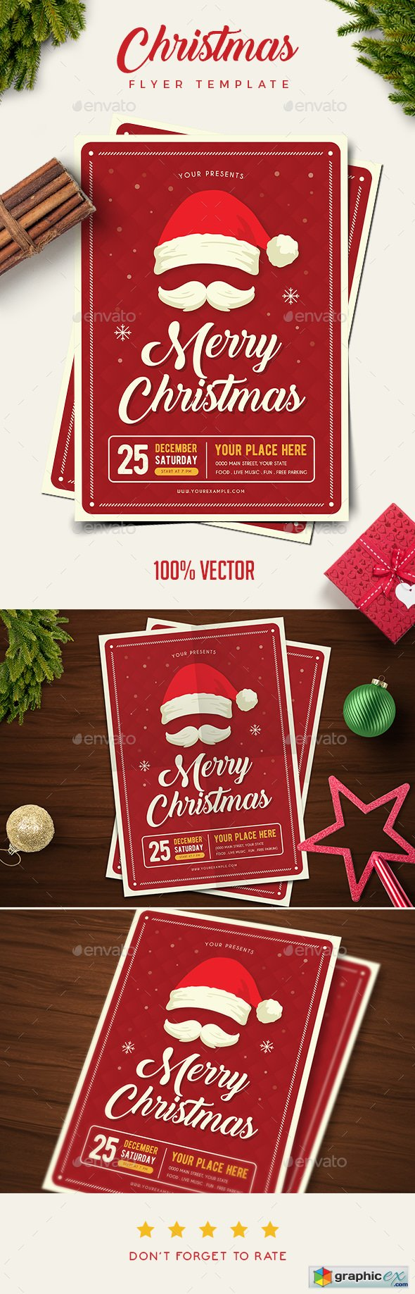 Christmas Party Flyer 20929934