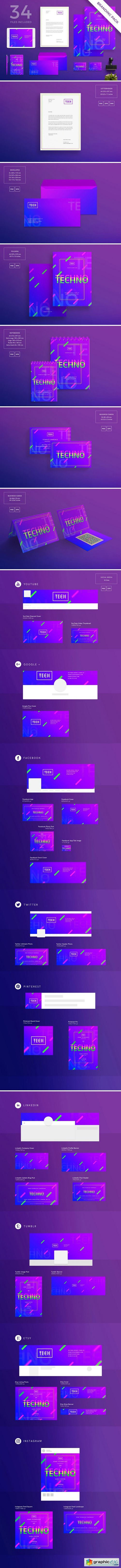 Branding Pack | Home Tech