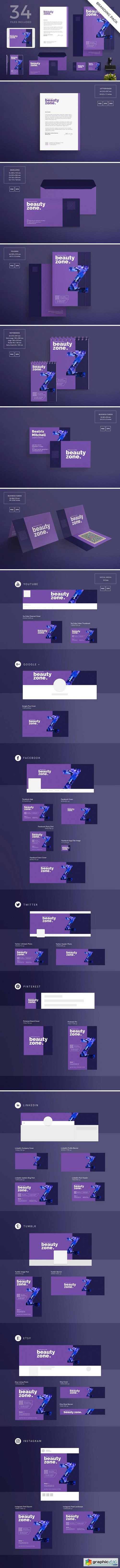 Branding Pack | Beauty Zone