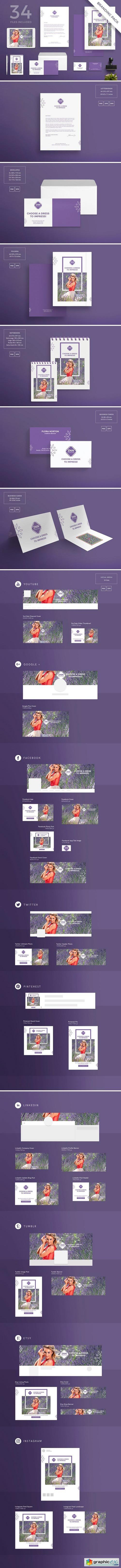 Branding Pack | Choose a Dress