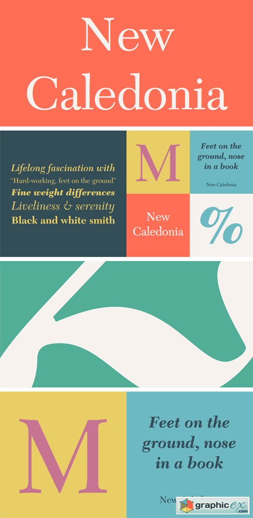New Caledonia Font Family