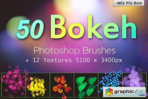 50 Bokeh Brushes