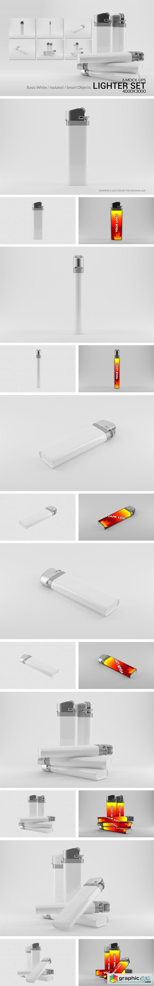 The Lighter Mock-Ups