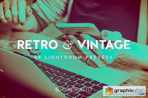 Retro & Vintage - 24 Lightroom Presets