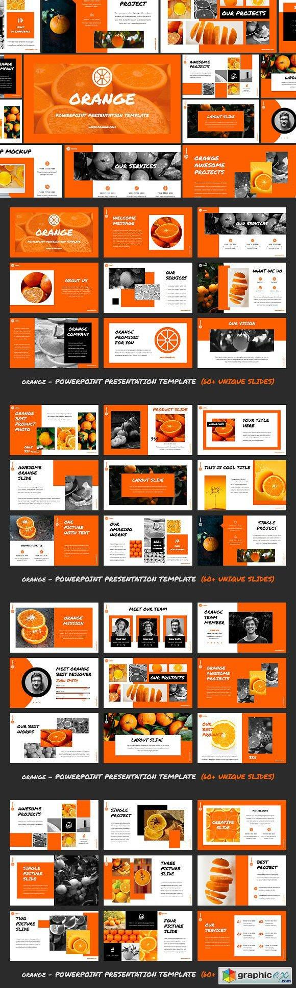 Orange - Powerpoint Template