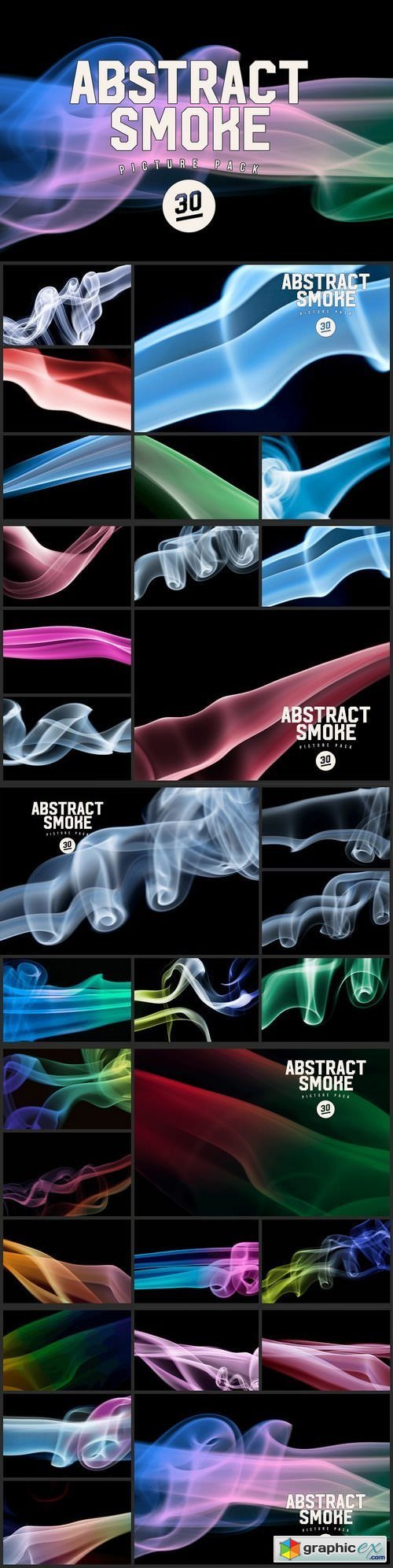 Abstract Smoke Photo Pack