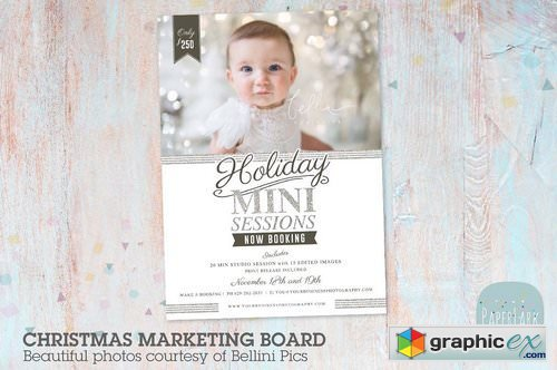 IC051 Christmas Marketing Board