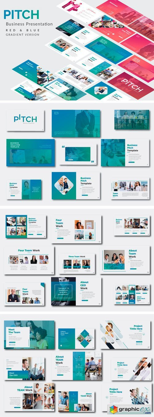 Pitch Business Powerpoint