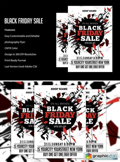 Black Friday Sale flyers 2043280