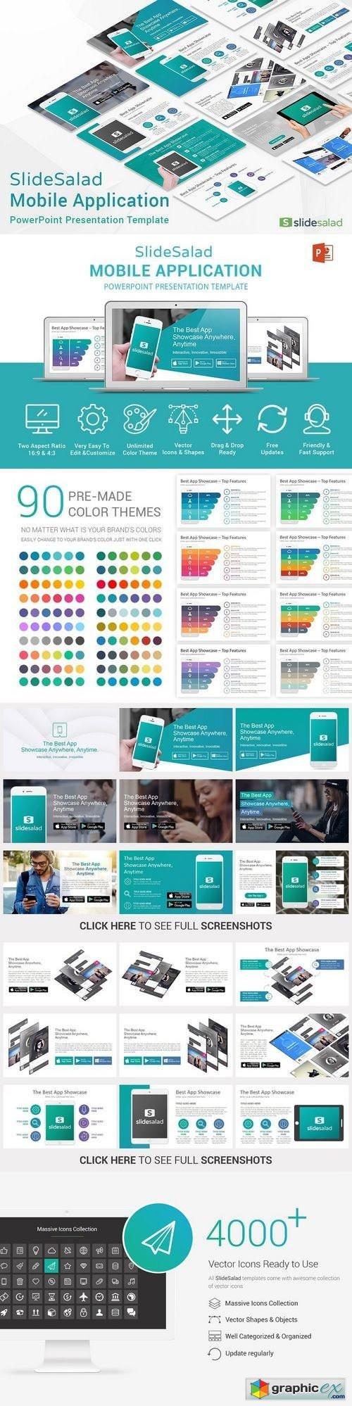 Mobile apps powerpoint template free download vector stock image mobile apps powerpoint template toneelgroepblik Gallery