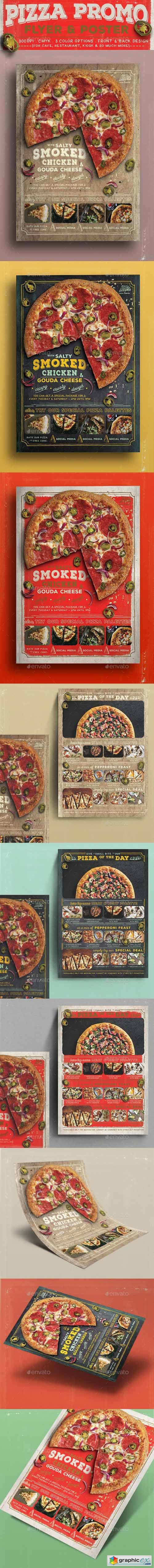 Pizza Promo Flyer