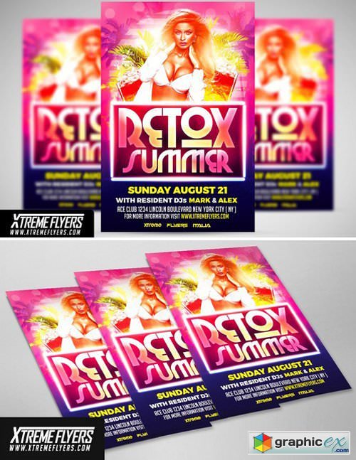 Summer Flyer Template 1811193