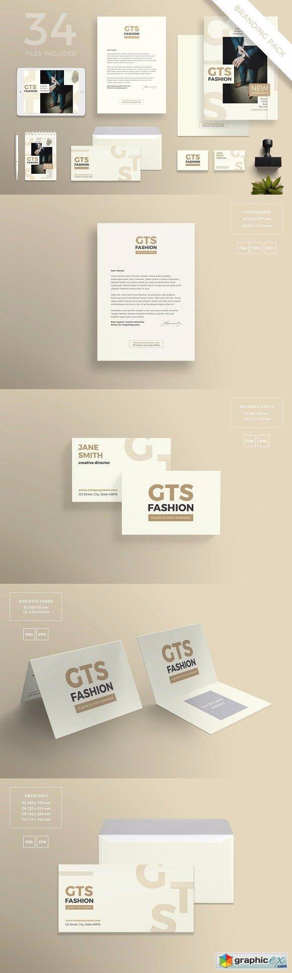 Branding Pack   Men's Fashion