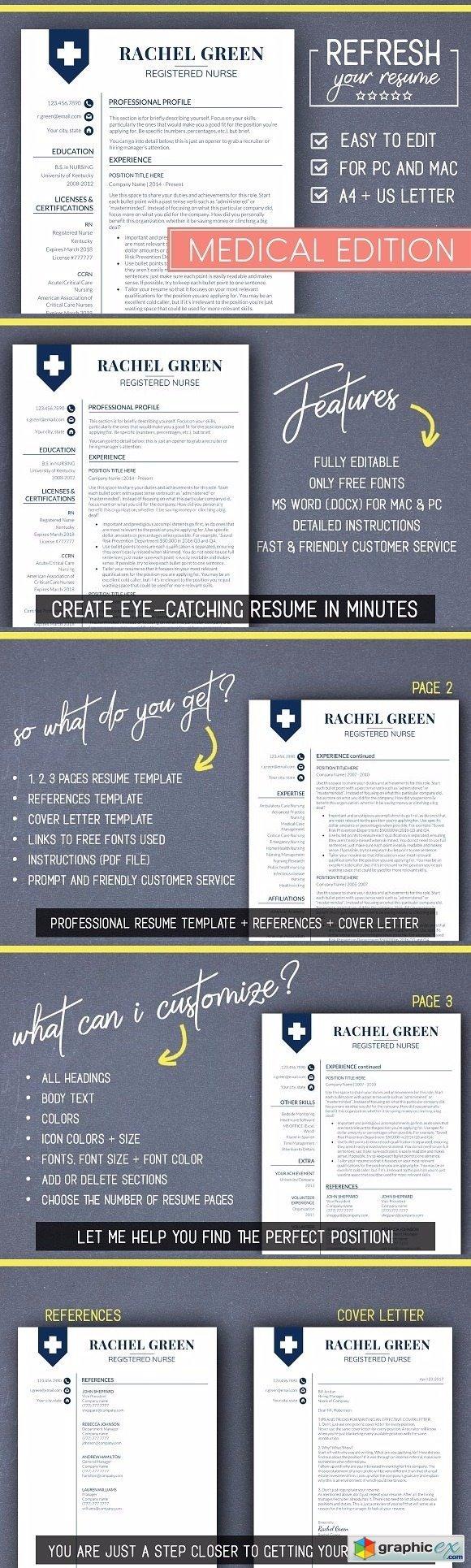 Medical RESUME Template Nurse Resume