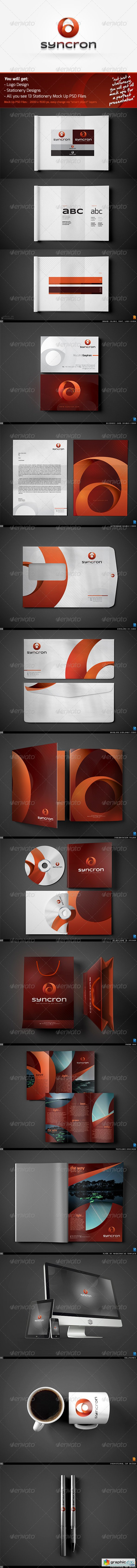Syncron Modern Corporate Identity v11 2603608
