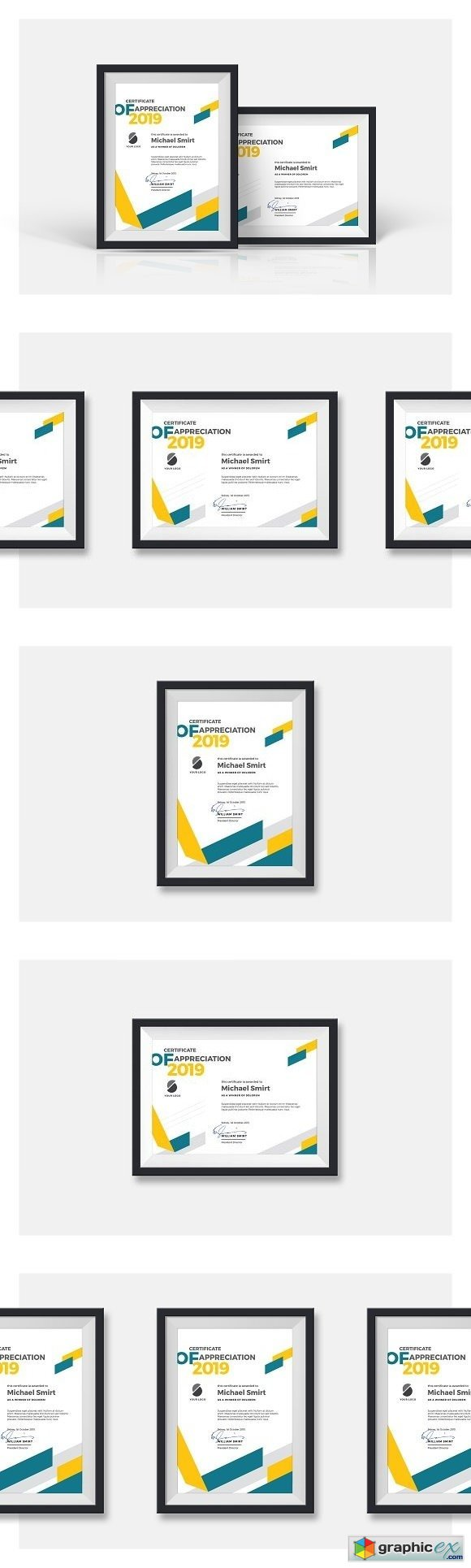 Abstract Certificates