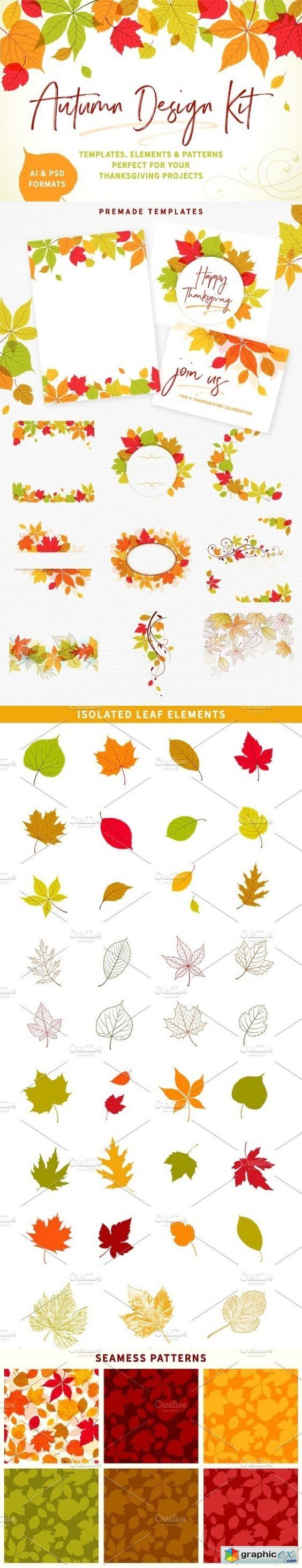 Autumn Design Kit