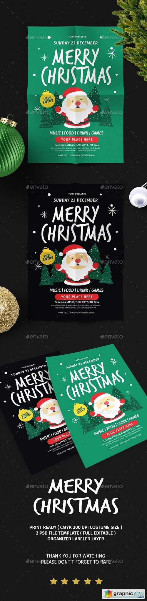 Christmas Flyer Vol.6