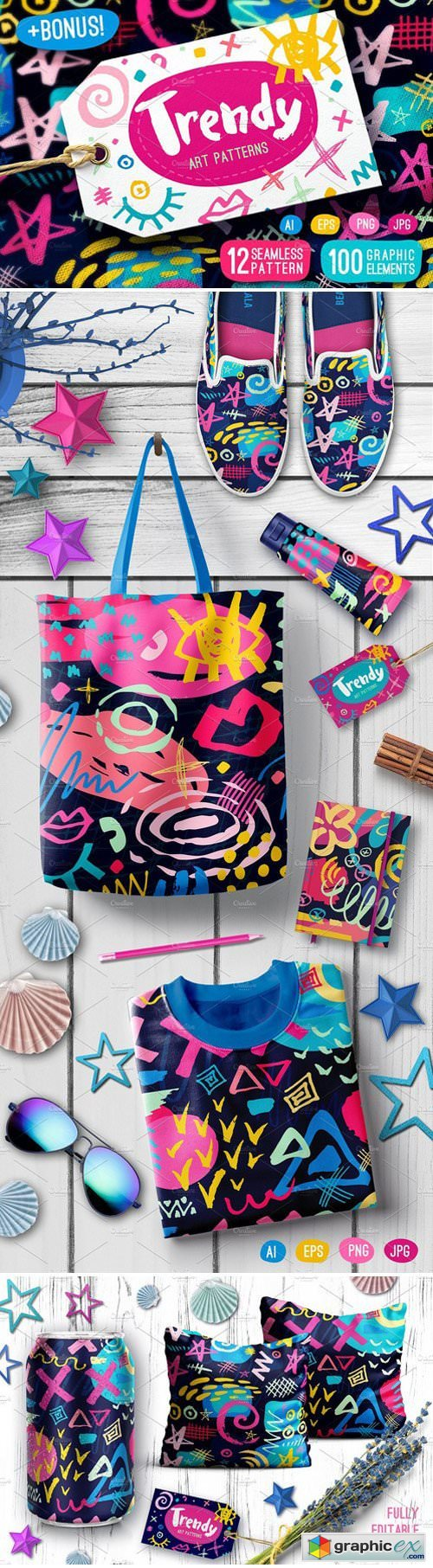 Trendy Art Patterns