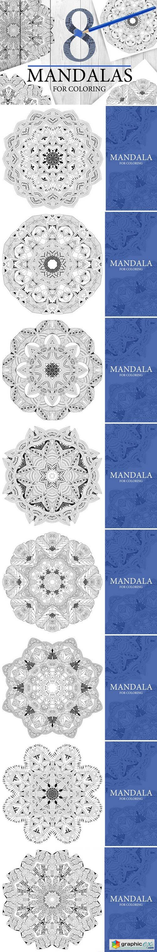 Mandalas for coloring