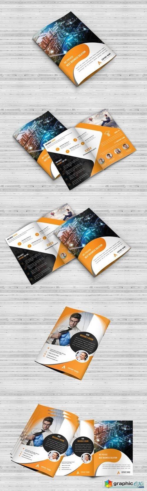 Bi-Fold Brochure Template 1404630