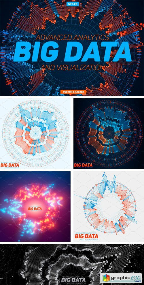 Big Data Circular Graphs Set#9