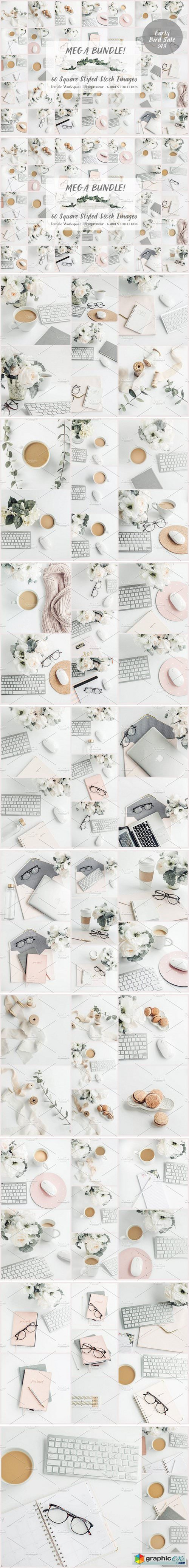 Mega Bundle- 60 Social Media images