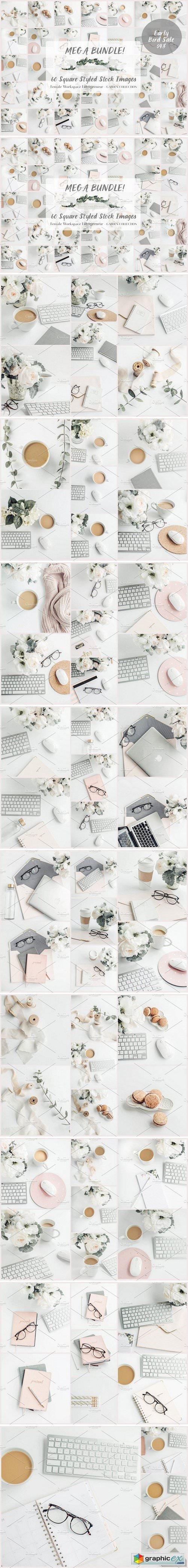 Mega Bundle- 60 Social Media images