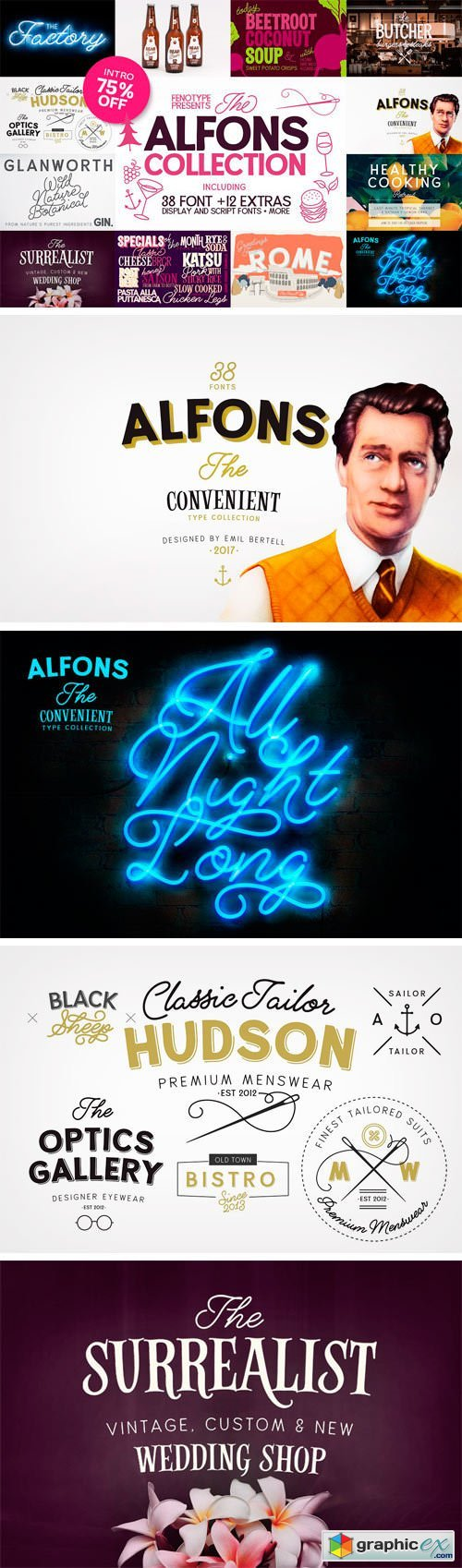 Alfons Collection + Ornaments & Extras
