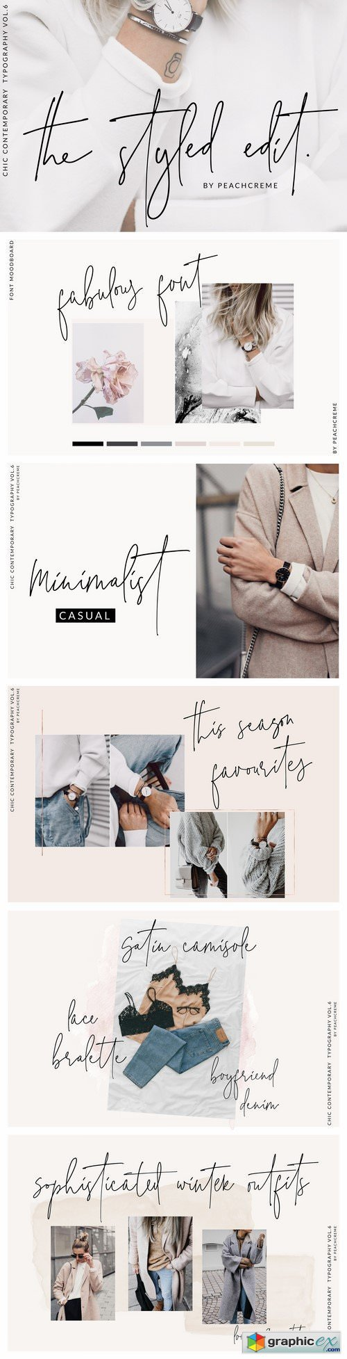 The Styled Edit- Chic Script Font