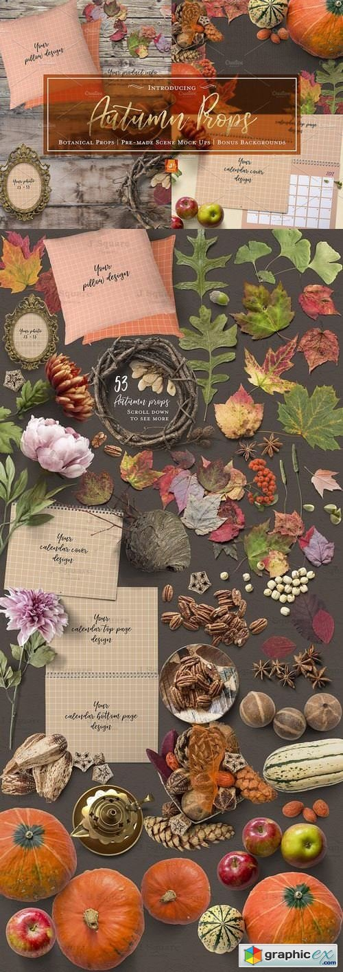 Autumn Props & Mock Ups