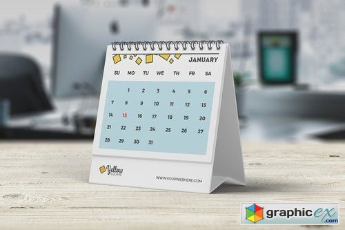 desk calendar mockup 2108065  u00bb free download vector stock