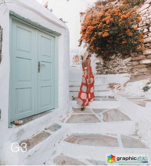 DOYOUTRAVEL X GYPSEALUST Presets - Greece Collection