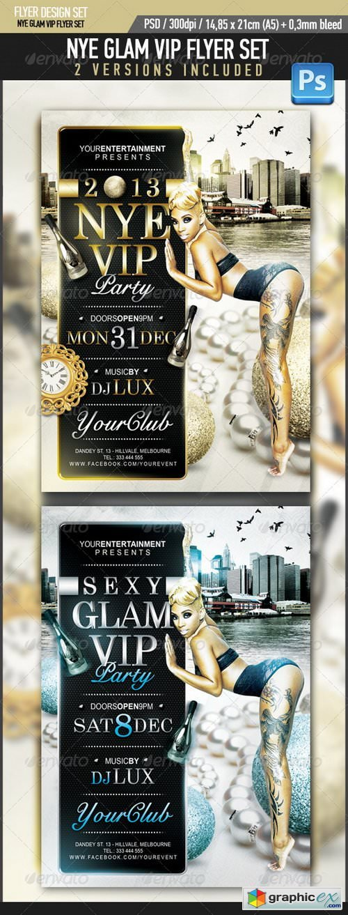 New Years Eve Glam VIP Party 3466297