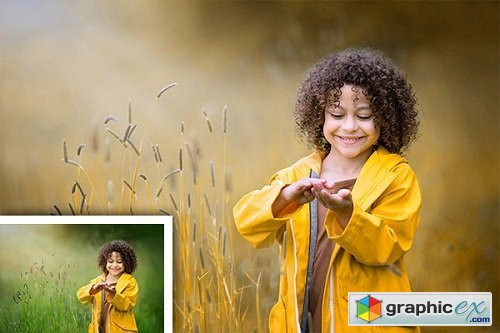 Rookyn Photoshop Action � Soft & Dreamy Autumn Effects Photoshop Action