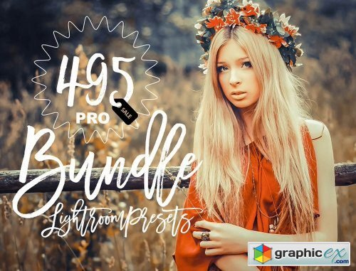 Pro Lightroom Presets Bundle 400+